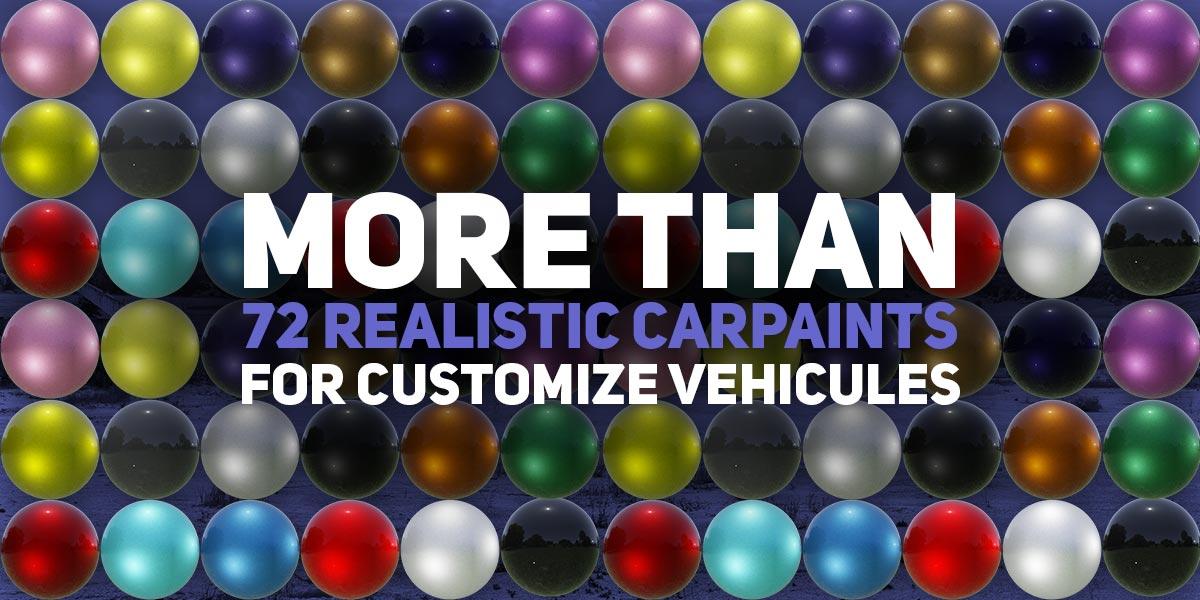 carpaint blender car