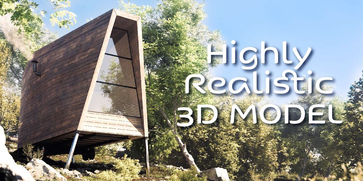 High quality asset 3d blender vegetation